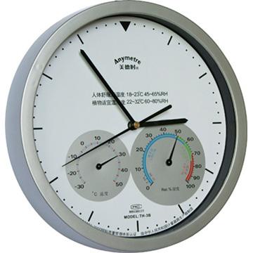 陕西th-3b时钟温湿度计/温湿度表