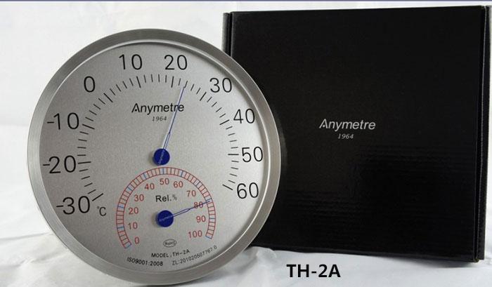 大直径不锈钢温湿度计702f